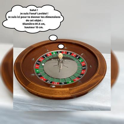 Dimension de la roulette