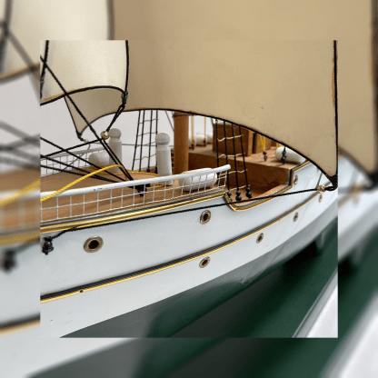 Détail du voilier