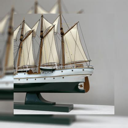 Arrière du voilier